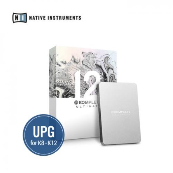 [NATIVE INSTRUMENTS] KOMPLETE 12 ULTIMATE Collectors Edition UPG for K8-12