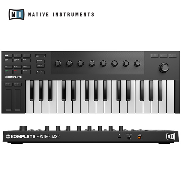 [NATIVE INSTRUMENTS] KOMPLETE KONTROL M32 - 초소형 키보드 컨트롤러