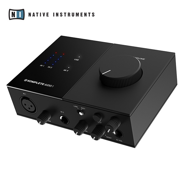 [NATIVE INSTRUMENTS] KOMPLETE AUDIO 1 -2채널 오디오 인터페이스
